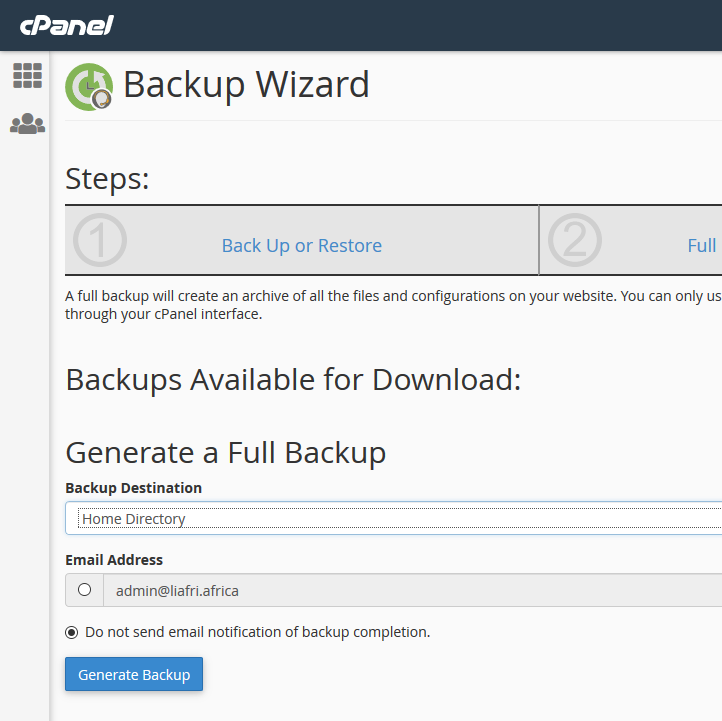 Migrate from cPanel to Control Web Panel (CWP) in 2019