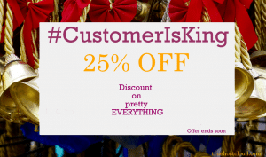 customer is king coupon
