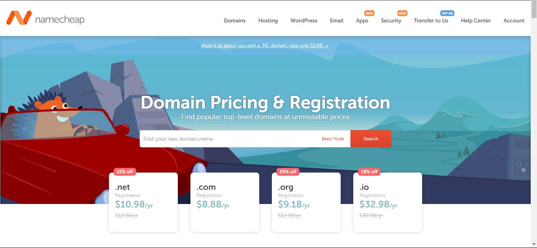 Namecheap Domains